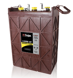 Trojan L16RE-2V 1110 AH Deep Cycle Battery Free Delivery most locations in the lower 48*.